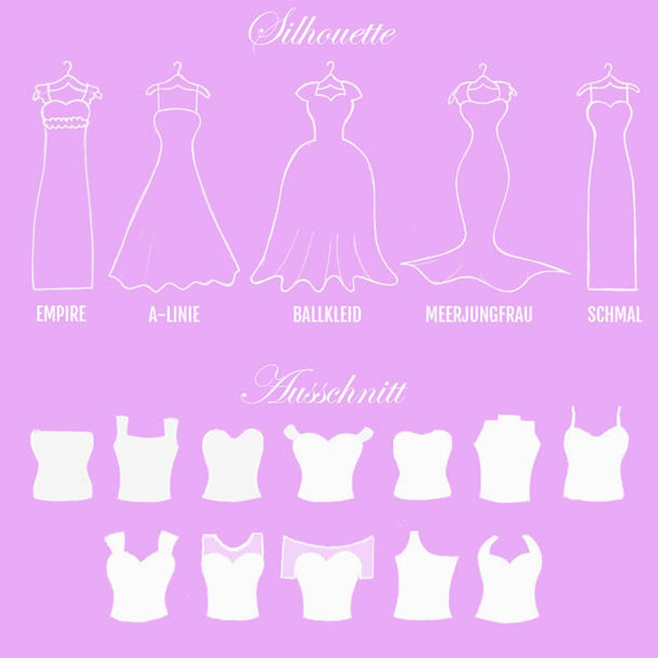 Brautkleider: Dieses Hochzeitskleid passt zu deiner Figur