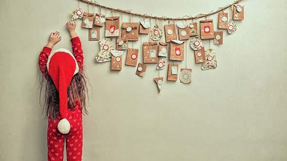 Adventskalender basteln: Hier gibt es die schönsten Ideen. - Foto: iStock