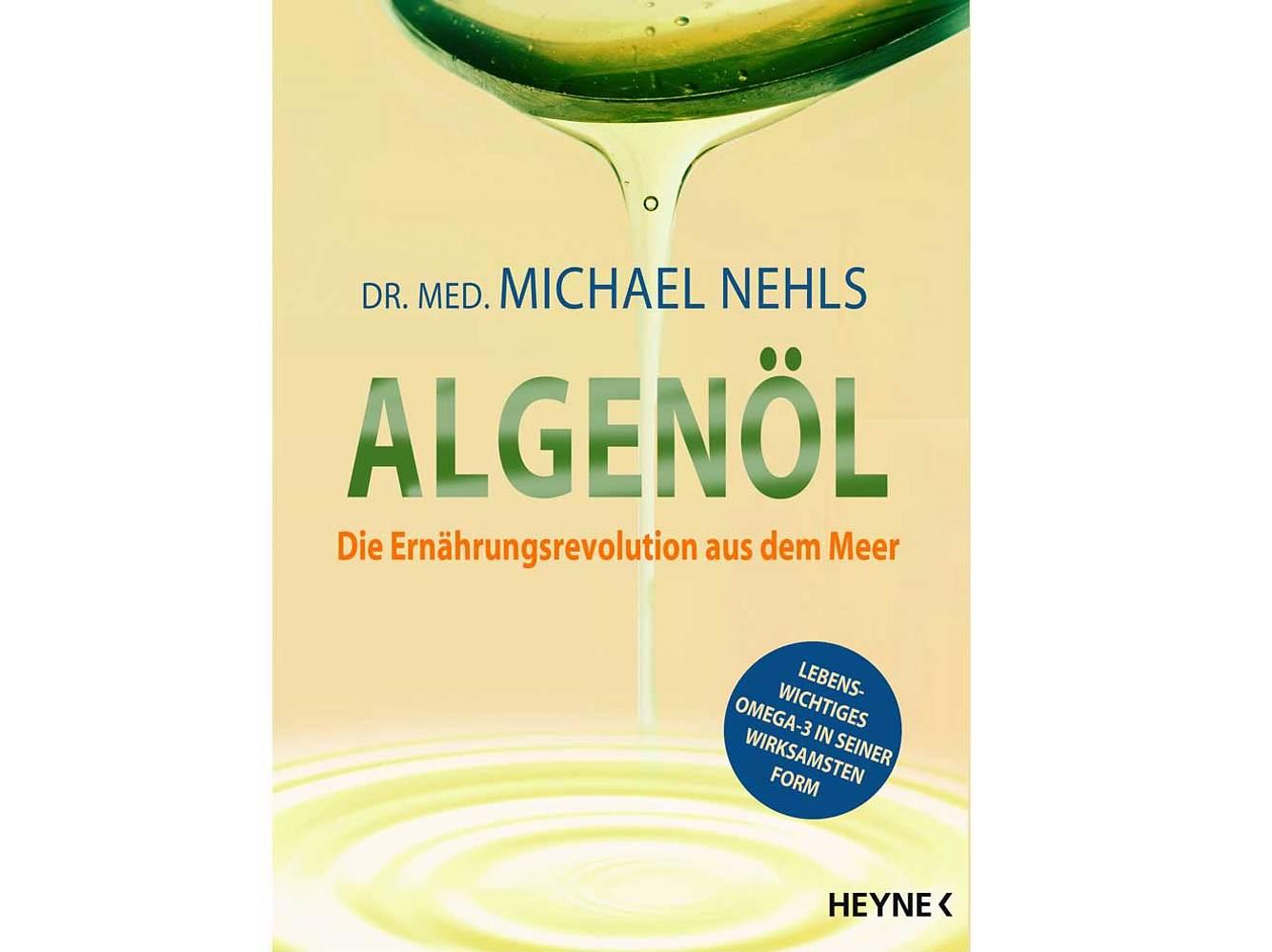 Das Buch Algenöl ist im Heyne Verlag erschienen und für 16.99 Euro zu kaufen.