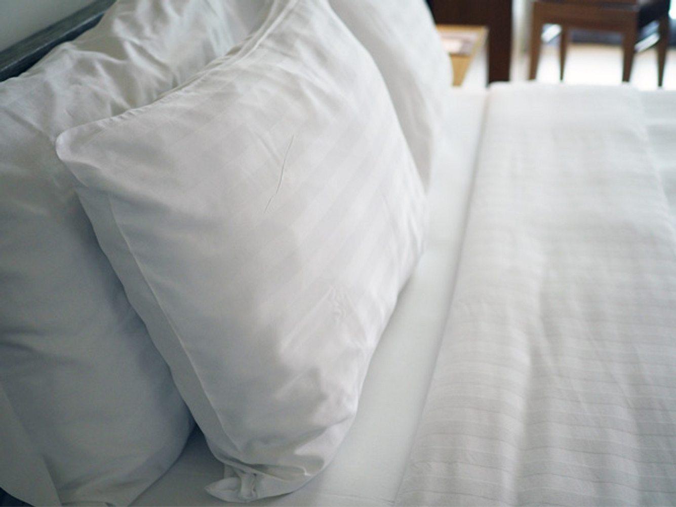 Weiße Allergiker-Bettwäsche