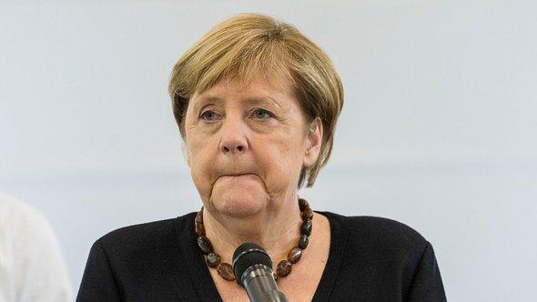 Angela Merkel: Trauriges Aus! - Foto: Thomas Lohnes / Freier Fotograf / Getty Images Europe
