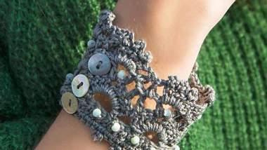 Armband häkeln - Foto: Lana Grossa