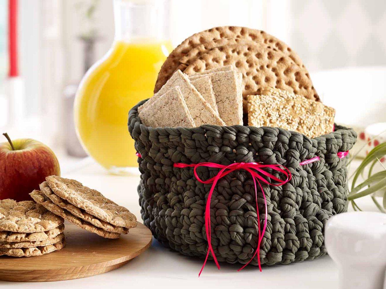 Mit diesem Brotkorb wird jedes Frühstück etwas Besonderes.