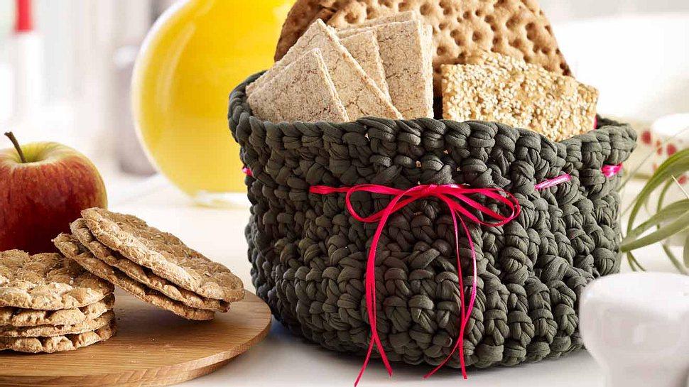 Mit diesem Brotkorb wird jedes Frühstück etwas Besonderes. - Foto: DECO&STYLE EXPERTS