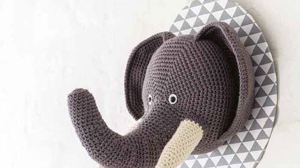 Diesen Elefanten könnte man schon fast für echt halten. - Foto: EMF
