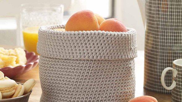 Häkelanleitung: So häkeln Sie Ihren eigenen Obstkorb - Foto: DECO&STYLE EXPERTS