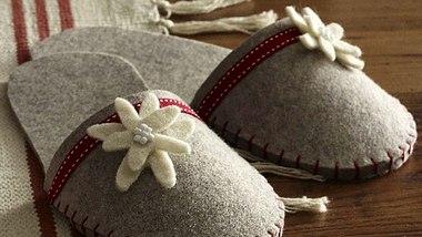 Mit diesen Pantoffeln haben Sie nie wieder kalte Füße! - Foto: deco & style