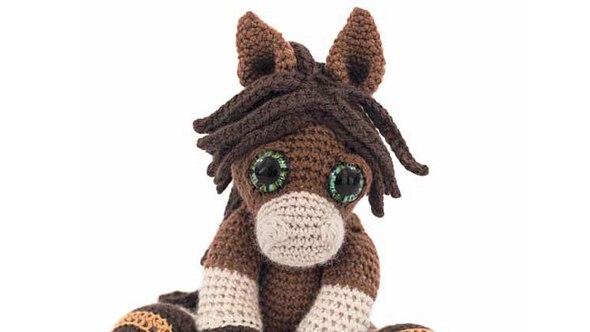 Häkelanleitung für ein Pony - Foto: EMF