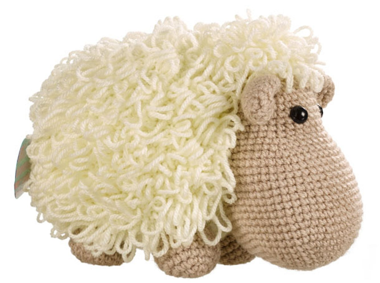 Kuscheltier stricken: Wolliges Schaf zum Nachstricken