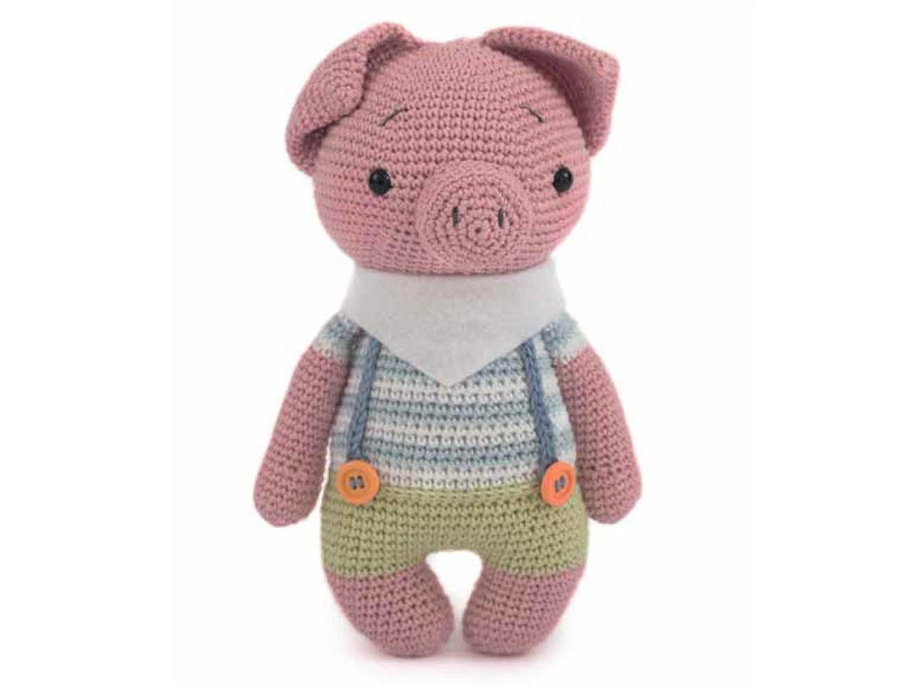 Dieses Schweinchen würde ganz sicher gerne bei Ihnen einziehen!