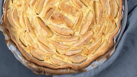 Apfelkuchen ohne Zucker: Das Rezept für die gesunde Alternative - Foto: Dominique Bachmann aus dem Buch Ohne Zucker / Christian Verlag