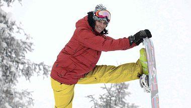 aufwaermuebungen fuers snowboarden - Foto: Lena Alger/Nitro Snowboards