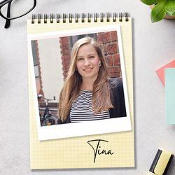 Autorenprofil Tina Langer - Foto: Collage mit Redaktion Wunderweib.de und privatem Foto