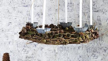 basteln mit zapfen - Foto: deco&style