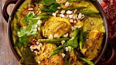 Unser Bohnencurry glänzt durch exotische Zutaten wie Kokosmilch und Curry. - Foto: House of Foods
