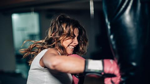 Boxen ist ein effektives Training für Frauen. - Foto: iStock/South_agency