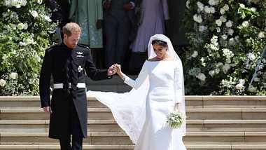 Brautkleid-Trends 2019: Diese Hochzeitskleider sind angesagt - Foto: Jane Barlow - WPA Pool/Getty Images