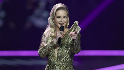 Supertalent 2021: Chantal steht nicht mehr auf der Bühne, sondern sitzt in der Jury! - Foto: Dean Mouhtaropoulos/Getty Images