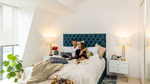 Clea-Lacy Juhn zeigt ihr Schlafzimmer - Foto: Vadim Kretschmer Photography für Wayfair.de