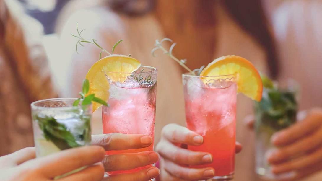 Cocktails mit wenig Zutaten - Foto: iStock