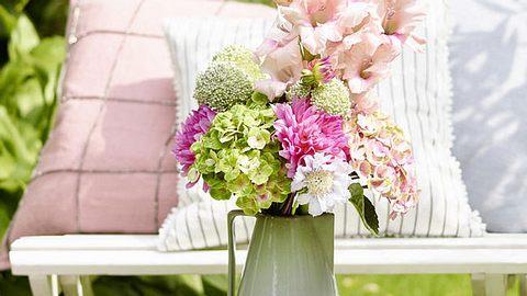deko ideen mit hortensien - Foto: deco&style