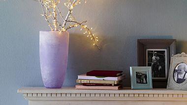 dekorieren mit lichterketten - Foto: deco&style