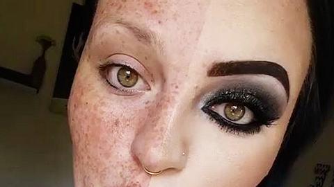 Mit oder ohne Make Up? - Foto: Instagram / peachyqueenblog