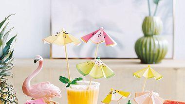 diy cocktailschirmchen - Foto: deco&style
