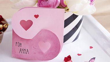 diy valentintstagskarte - Foto: deco&Style