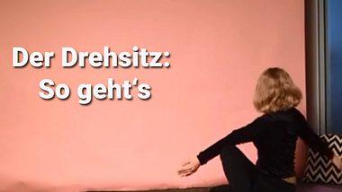 Der Drehsitz im Yoga - Foto: Wunderweib