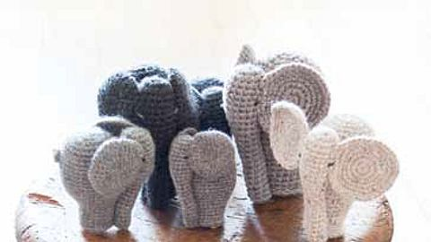 Anleitung: Elefanten häkeln - Foto: Lana Grossa
