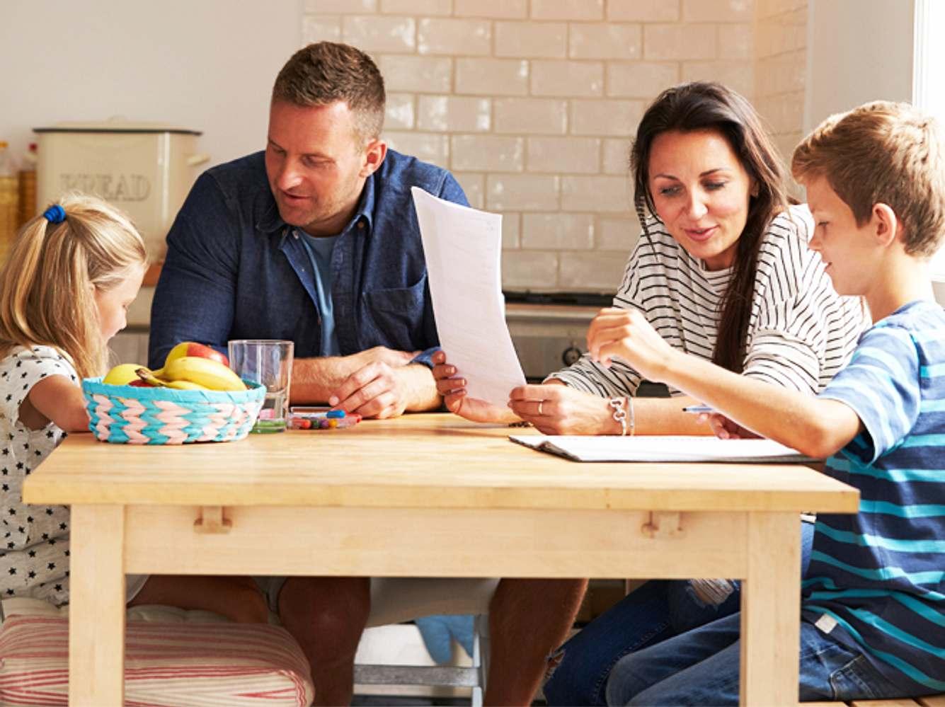 Intelligente Kinder: Was ihre Eltern gemeinsam haben