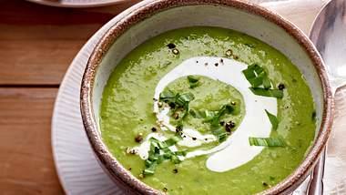 Erbsensuppe schmeckt vegetarisch einfach nur lecker! - Foto: House of Foods