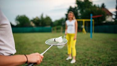 Federball-Set für die Freizeit - Foto: iStock/nortonrsx