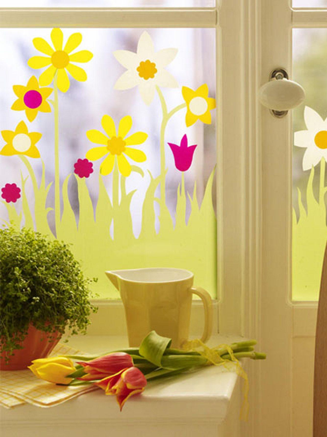 Fensterdeko zu Ostern selber machen: Kreative Bastel-Ideen für dein Fenster