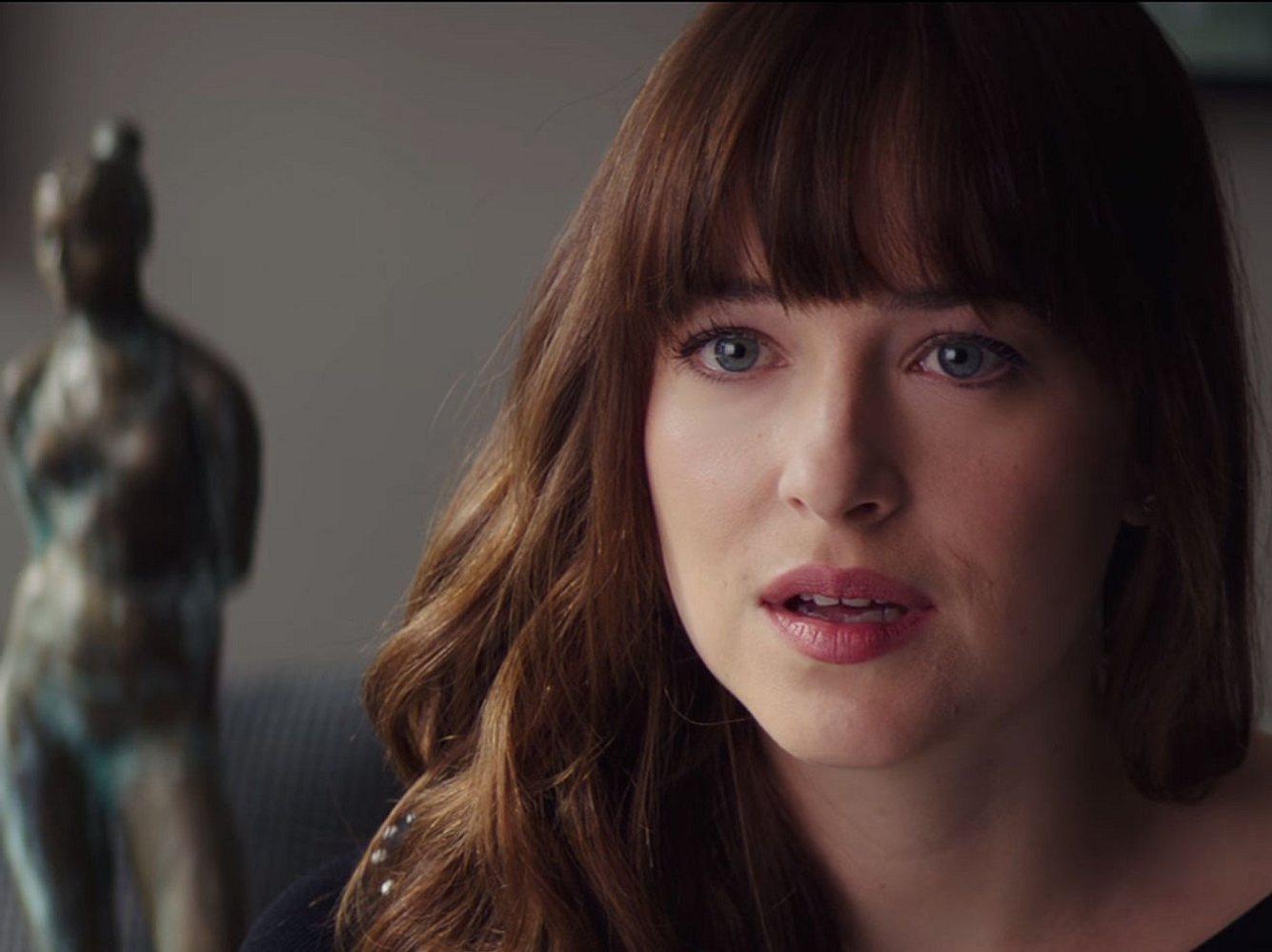 Schwanger von Christian Grey! Ana kann es nicht fassen, als sie die freudige Nachricht in Fifty Shades of Grey - Befreite Lust hört!