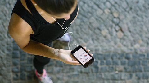 Mithilfe von Fitness-Apps soll unser Training leichter werden und mehr Spaß machen. - Foto: iStock/ alvarez
