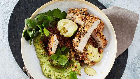 Kartoffelüree war gestern! Heute gibts Pute mit Avocado-Püree. - Foto: House of Food / Bauer Food Experts KG