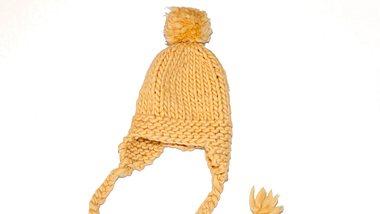 Gelbe Wollmütze - Foto: weareknitters