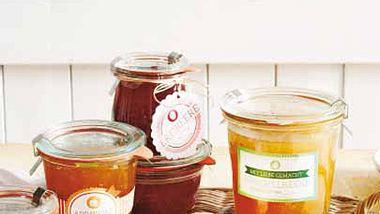 geschenk des monats etiketten marmeladenglaeser - Foto: deco&style