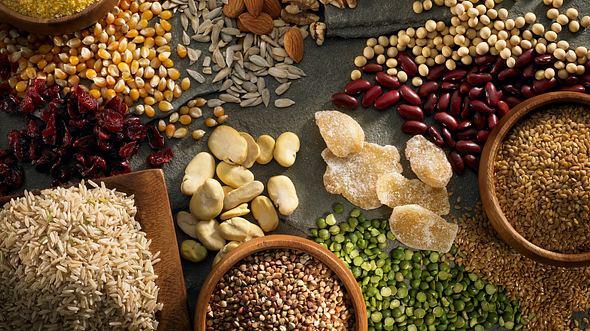 Zutaten für glutenfreie Ernährung - Foto: iStock/Janine Lamontagne