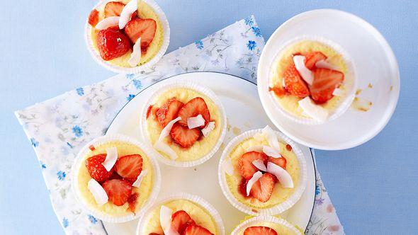 Unsere glutenfreie Käsekuchen-Muffins sind der Hit. - Foto: House of Food / Bauer Food Experts KG