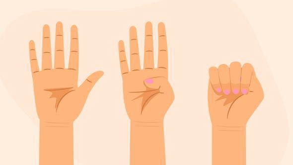 Handzeichen als Hilferuf bei häuslicher Gewalt: Dieses Zeichen sollte jeder kennen! - Foto: Collage Wunderweib & iStock/S-S-S