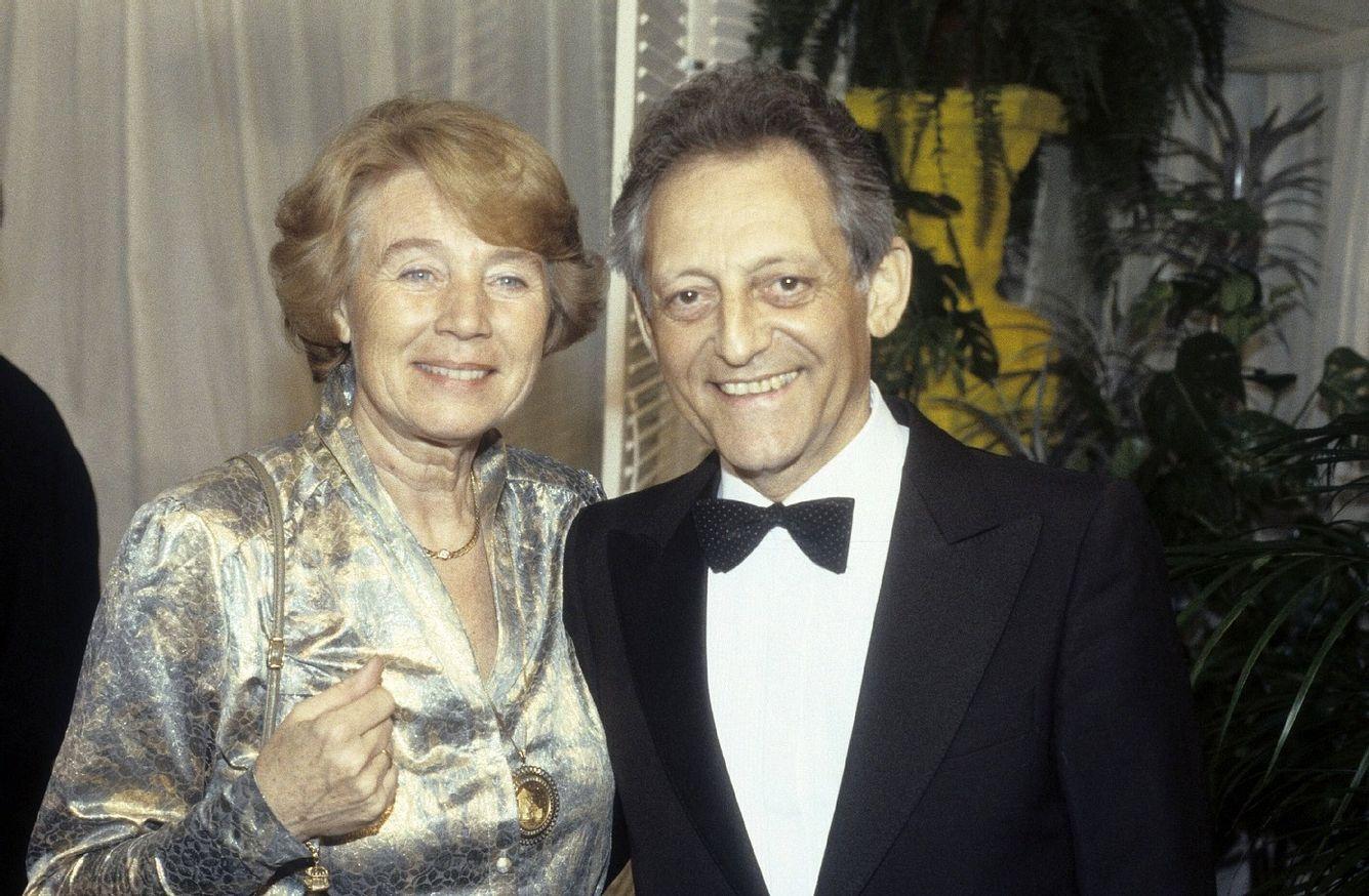 Hans Rosenthal mit Ehefrau Traudl