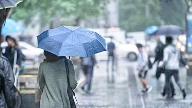 Regen in Deutschland - Foto: iStock/olaser