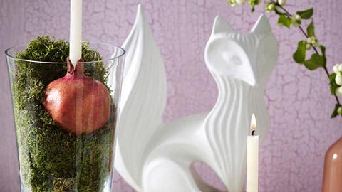herbstdeko stimmungsvolles kerzenlicht - Foto: deco&style