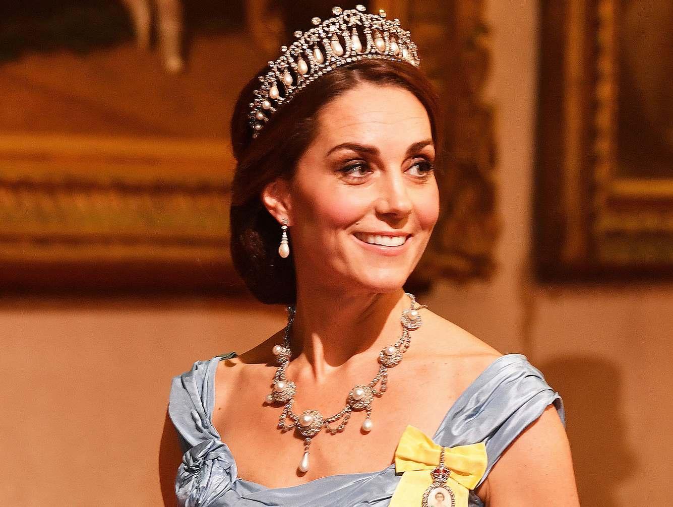 Herzogin Kate trägt die Lieblings-Tiara von Prinzessin Diana.
