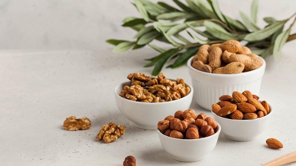 Nüsse als histaminarme Ernährung - Foto: iStock/Victoria Popova