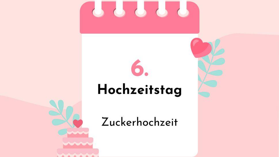 Zuckerhochzeit: Welche Bedeutung steckt hinter dem 6. Hochzeitstag? - Foto: iStock/Barmaleeva/venimo