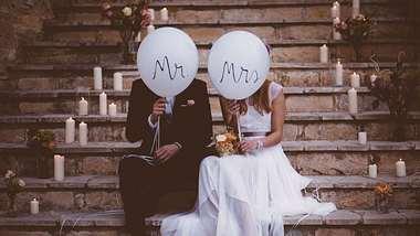 Hochzeitstrends 2019: Von Deko über Food - das ist angesagt - Foto: iStock
